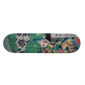 Samurai Warlord Skateboard Deck