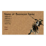 Samurai Warrior Business Profile Card Double-Sided Standard Business Cards (Pack Of 100)