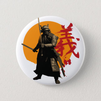Samurai Warrior Button