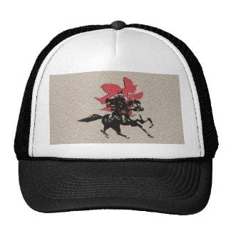 Samurai Warrior Mesh Hat