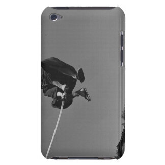 Samurai warrior jump ack with a sword 3 iPod touch cover