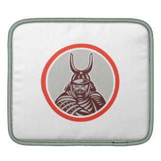 Samurai Warrior Katana Sword Attacking iPad Sleeves