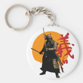 Samurai Warrior Keychain