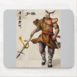 samurai warrior mouse pad