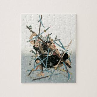 Samurai Warrior Oriental Art 3 Jigsaw Puzzle