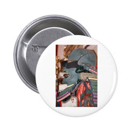 Samurai Warrior Pin