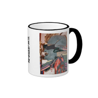 Samurai Warrior Ringer Mug