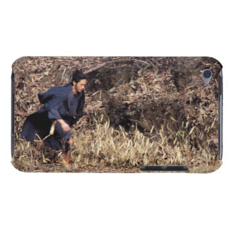 Samurai warrior running in an isolated land 2 Case-Mate iPod touch case