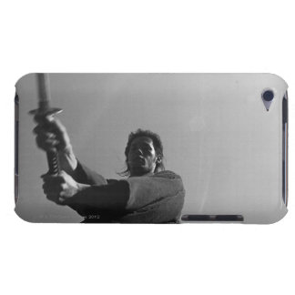 Samurai warrior strikes an attack with a sword 6 iPod touch covers
