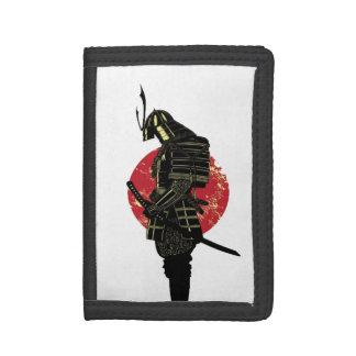 Samurai Warrior. Trifold Wallet