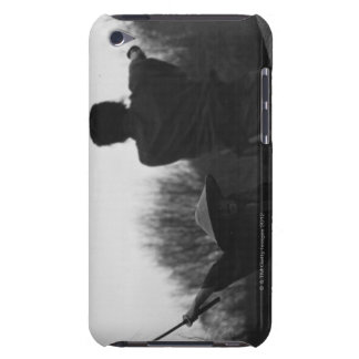 Samurai warriors acking each other 4 iPod touch Case-Mate case