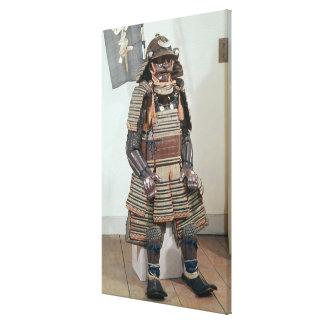 Samurai Warrior's Armour Canvas Print