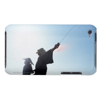 Samurai warriors attacking each other 12 iPod touch cover
