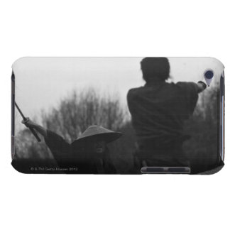 Samurai warriors attacking each other 4 iPod touch case