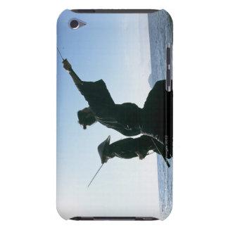 Samurai warriors attacking each other 9 iPod Case-Mate case
