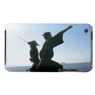 Samurai warriors attacking each other 9 iPod touch case