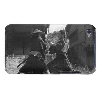 Samurai warriors attacking each other iPod touch case