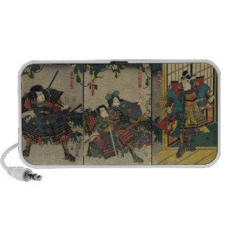 Samurai Warriors circa 1850 JAPAN Travelling Speaker