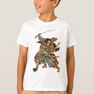 Samurai Warriors Fighting T-Shirt