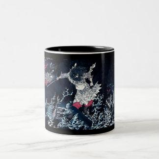 Samurai & Water Dragon Mug