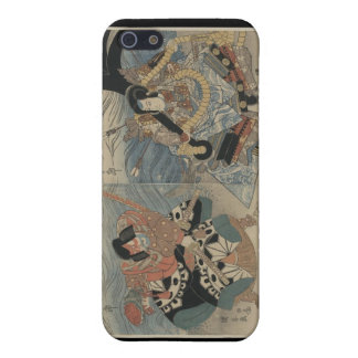 Samurai with Large Sword and Anchor c. 1815 Case For iPhone 5/5S