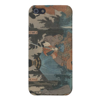 Samurai with Sword Drawn circa 1847 Japan Cover For iPhone SE/5/5s