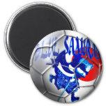 Samurais azules - regalos azules del fútbol de Jap Iman