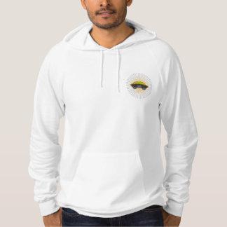 Samus Aran Pin-Up Hoodie(White) Hoodie