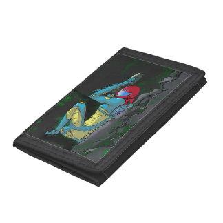Samus fusion suite tri-fold wallet