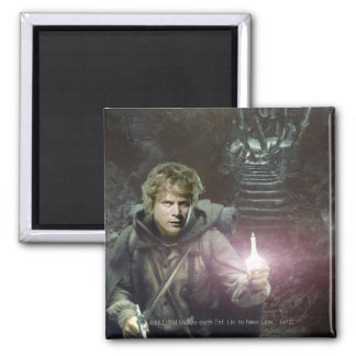 Samwise and SHELOB™ 2 Inch Square Magnet