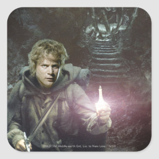 Samwise and SHELOB™ Square Sticker
