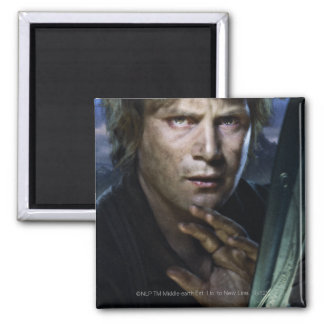 Samwise 2 Inch Square Magnet
