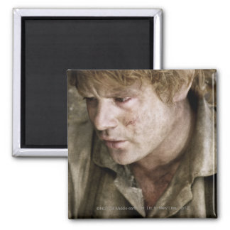 Samwise side face 2 inch square magnet