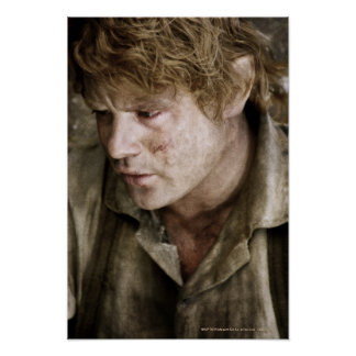 Samwise side face poster