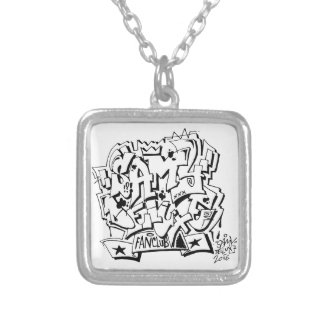 Samy Deluxe fan club chain Silver Plated Necklace