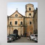 San Agostin Church Posters