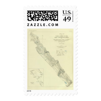 San Andreas Rift near Fort Ross Stamps