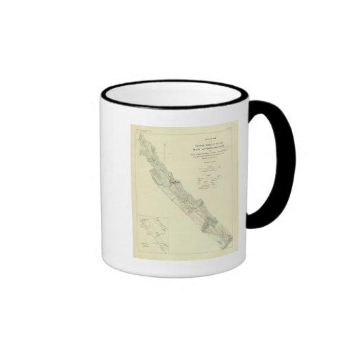San Andreas Rift near Fort Ross Ringer Coffee Mug