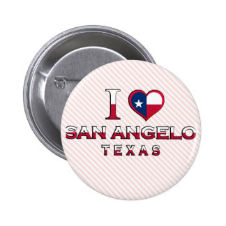San Angelo, Texas 2 Inch Round Button