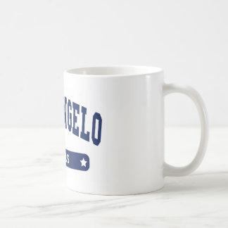 San Angelo Texas College Style tee shirts Classic White Coffee Mug