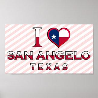 San Angelo, Texas Posters