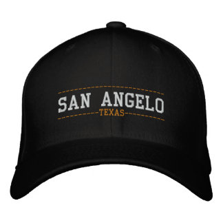 San Angelo Texas USA Embroidered Hats