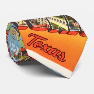 San Antonio #1 Texas TX Vintage Travel Souvenir Neck Tie