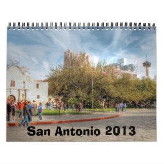 San Antonio 2013 Calendar
