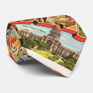 San Antonio #2 Texas TX Vintage Travel Souvenir Tie