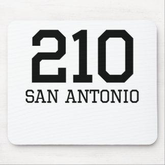 San Antonio Area Code 210 Mouse Pad