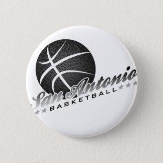 San Antonio Basketball Pinback Button