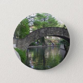 San Antonio Bridges Riverwalk Pinback Button