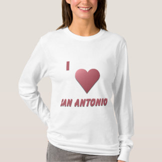 San Antonio -- Burgundy T-Shirt
