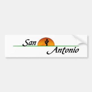 San Antonio Pegatina De Parachoque